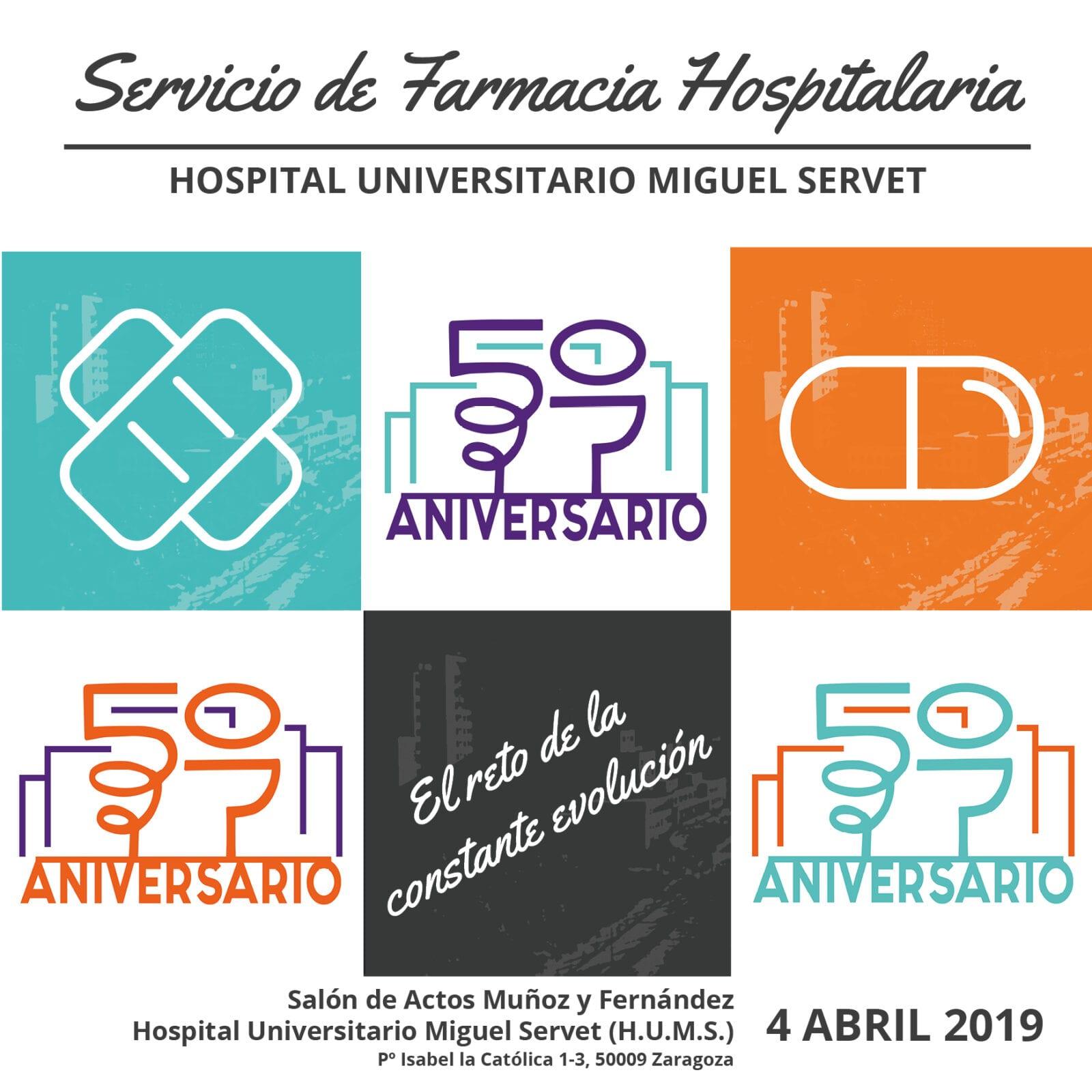 50 Aniversario Servicio Farmacia Hospitalaria - Hospital Universitario Miguel Servet