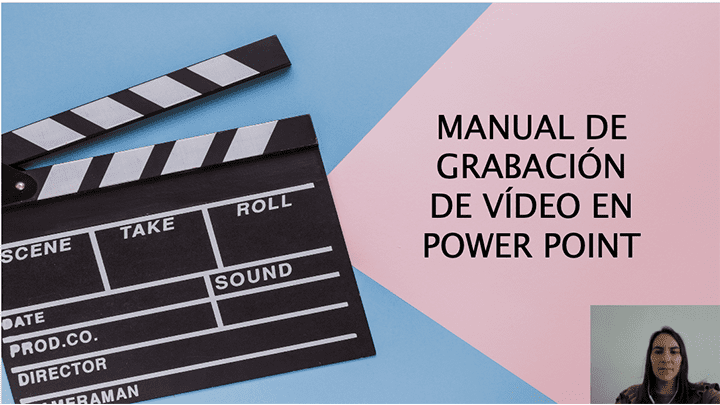 Manual de grabación de vídeo en power point.